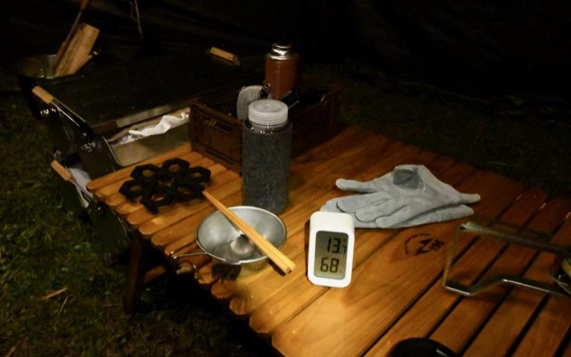 デジタル温度計 キャンプ