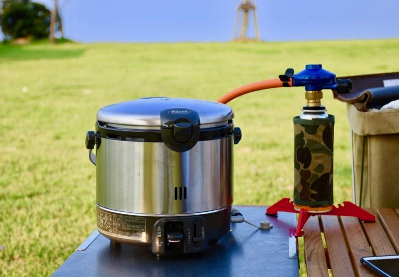 キャンプ ガス炊飯器