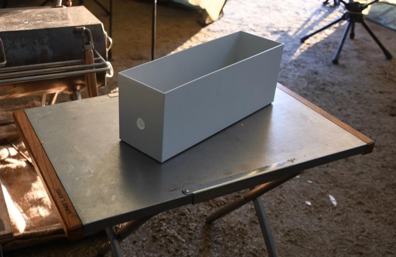 ポリプロピレンファイルボックス キャンプ用品