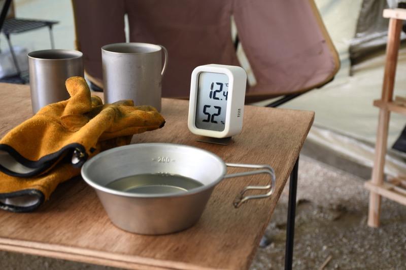 キャンプ 温度計