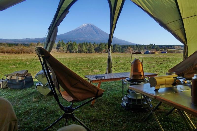 富士山キャンプ