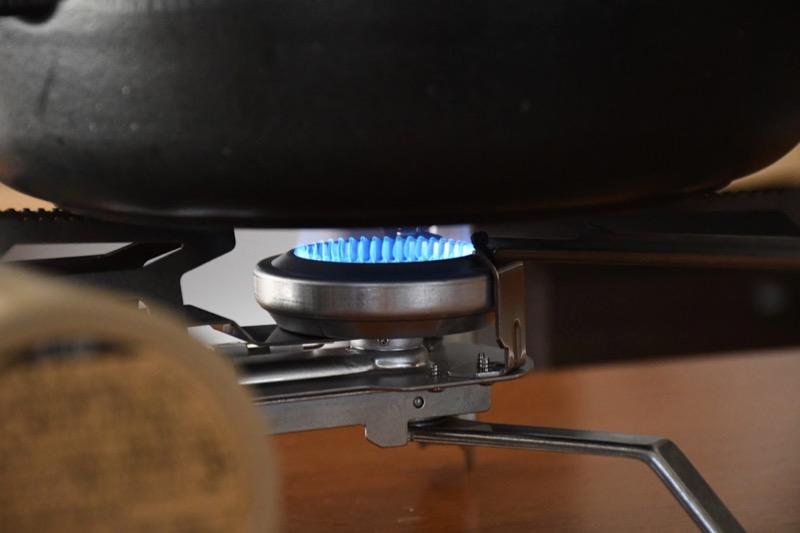 HOME&CAMPバーナー燃焼音