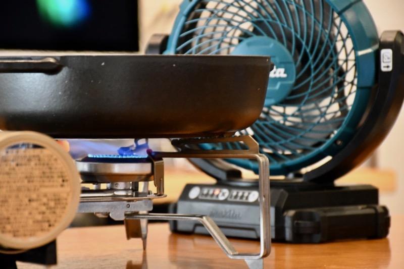 HOME&CAMPバーナー扇風機