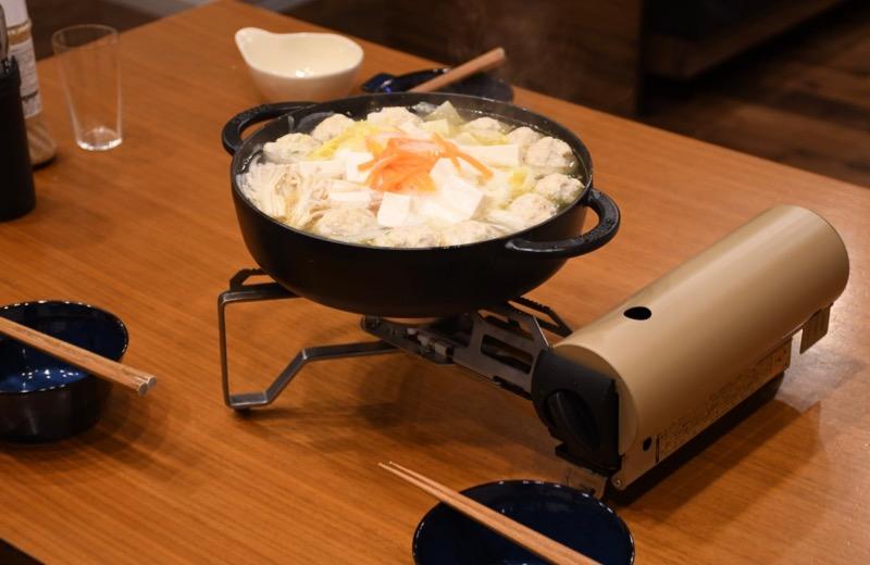 HOME&CAMPバーナーで自宅鍋