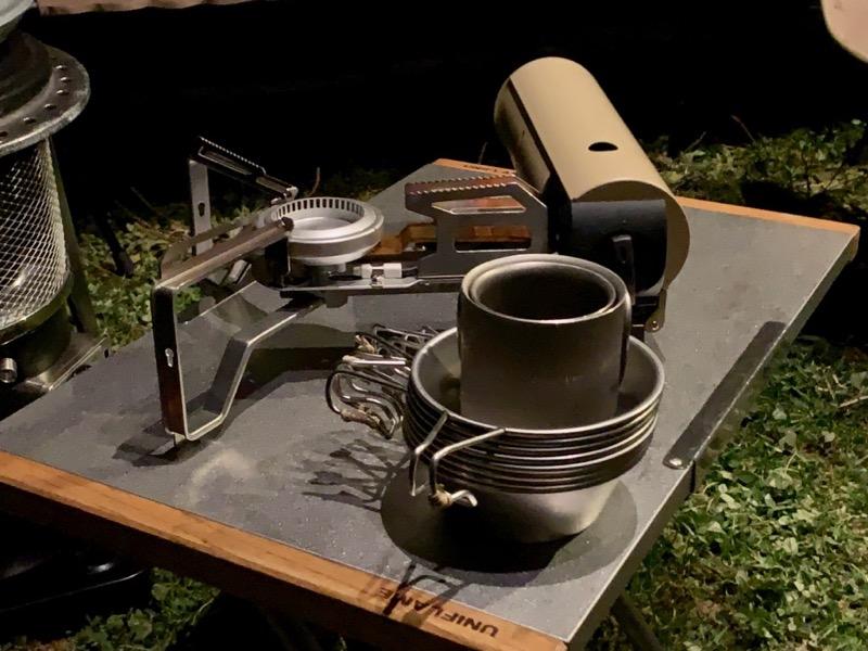HOME&CAMPバーナーと焚き火テーブル