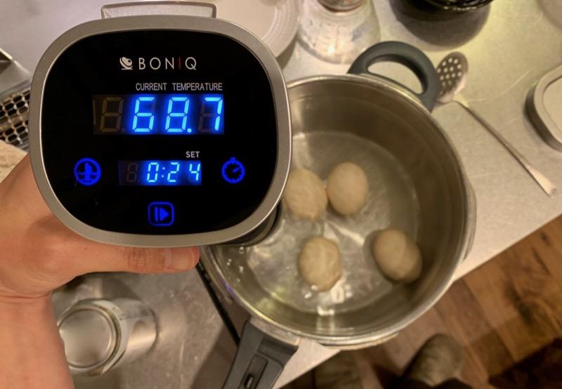 半熟卵 ボニーク