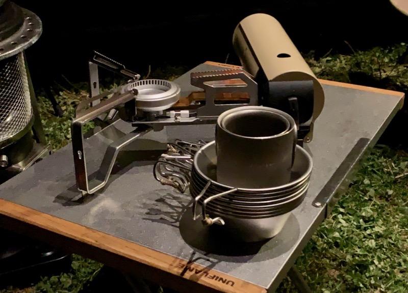 自宅で使えるキャンプ道具