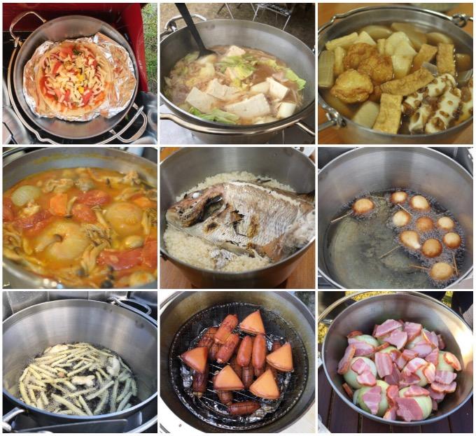 ステンレスダッチオーブン料理