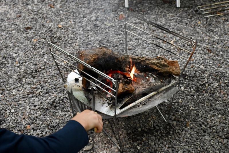 焚き火台ラプカの注意点