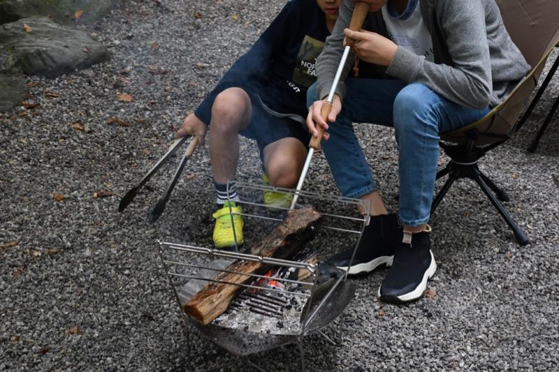 ラプカ焚き火台