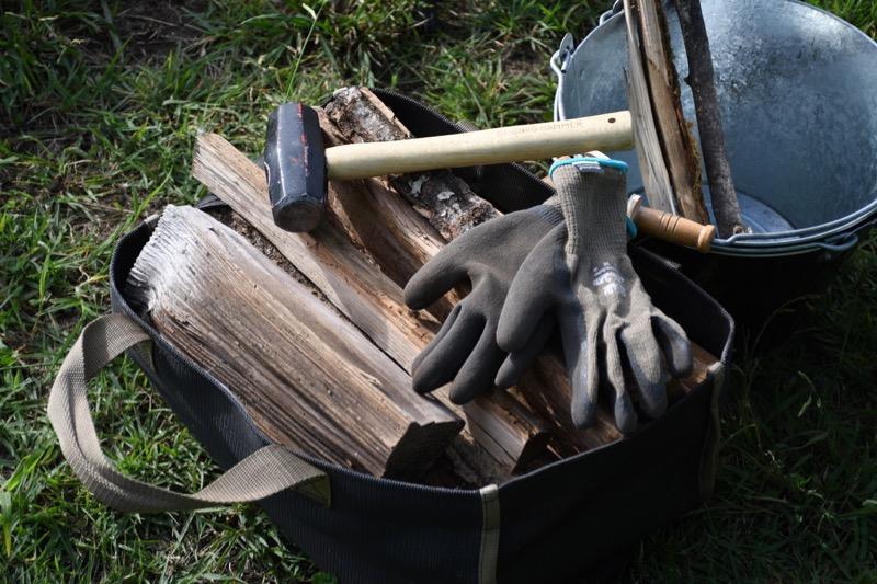 薪割りのハンマー