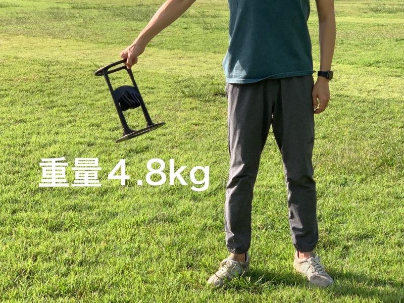 キンドリングクラッカーの重さ
