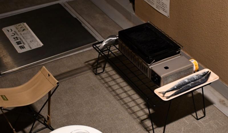 フィールドラック イワタニ 炉ばた 焼器 炙りや