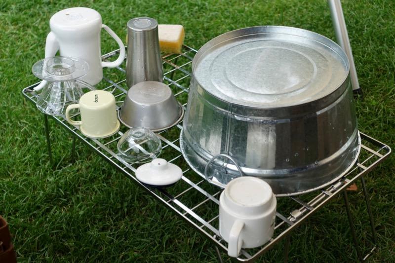 フィールドラック 洗い物乾燥