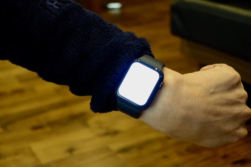 Apple Watchの懐中電灯