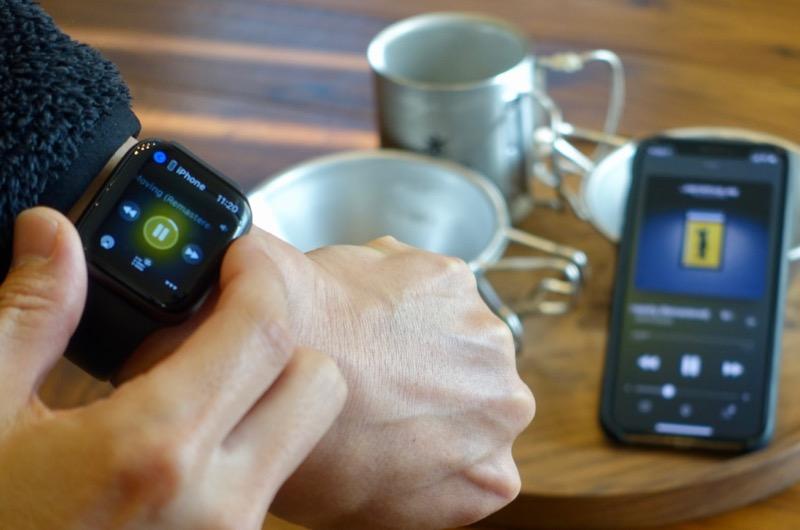 iPhone音量調整をApple Watchで