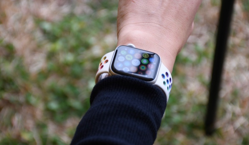 キャンプ Apple Watch