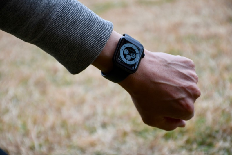 Apple Watch キャンプ