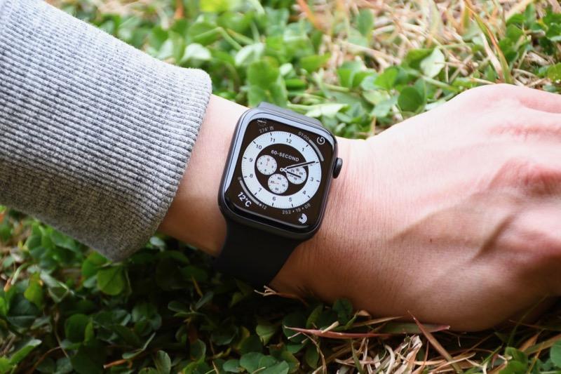 Apple Watchとキャンプ