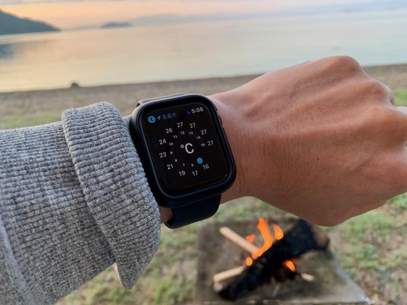 Apple Watch 天気予報