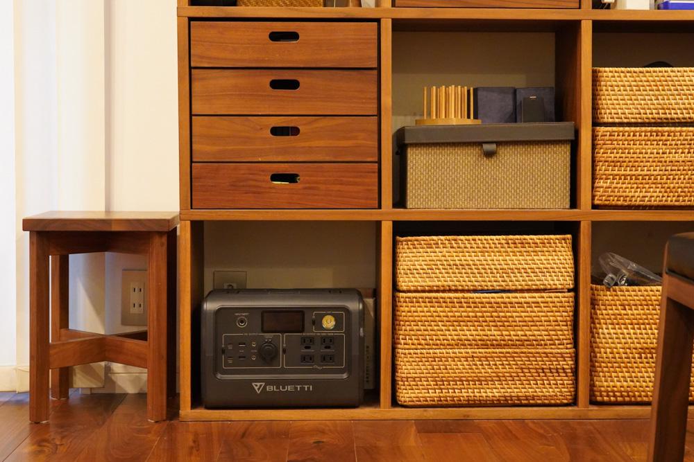 ポータブル電源を家で保管する