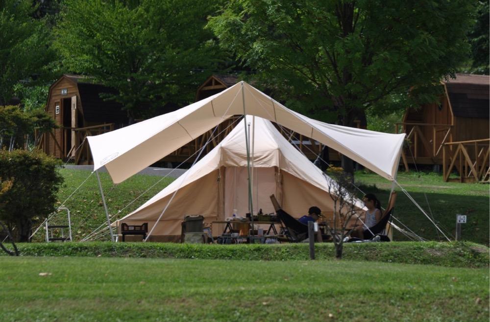ウトガルドでキャンプ